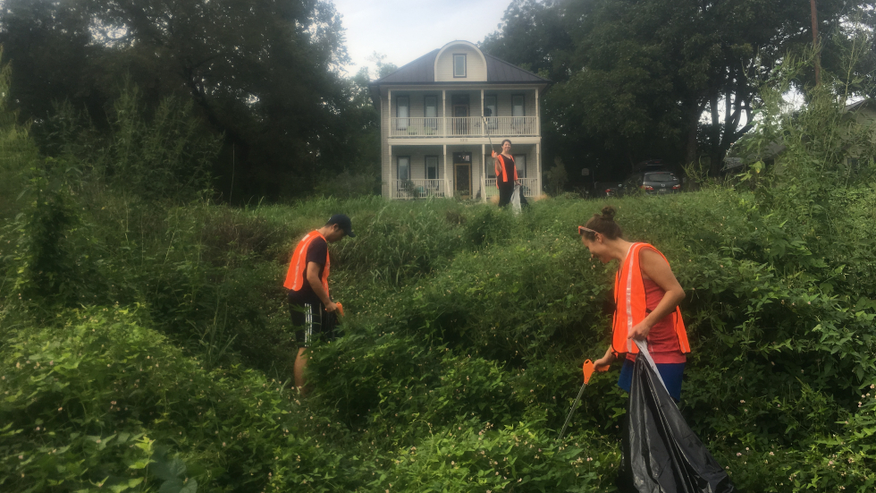Creek Cleanup Sept 21